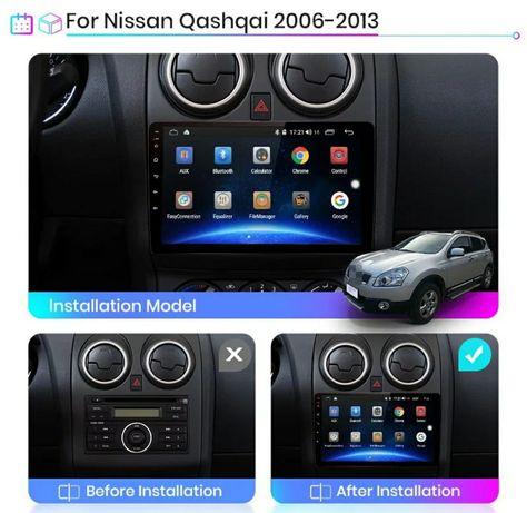Мултимедия Нисан Кашкай 2008 навигация Nissan Qashqai