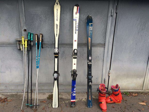ski / schiuri Rossignol, Blizzard + bete