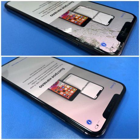 Рассрочка ремонт Стекла iPhone11/11PRO MAX/X/10/XS/XR/XS MAX/8+/7