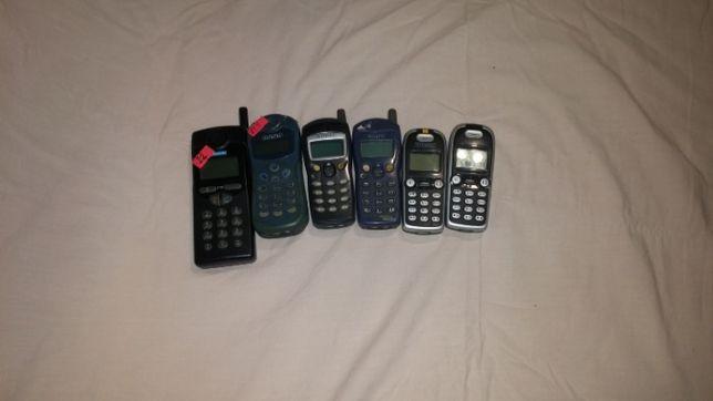 Telefon mobil vechi rar de colectie 6 bucati