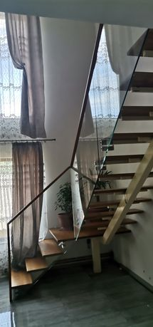 Balustrade sticla, inox