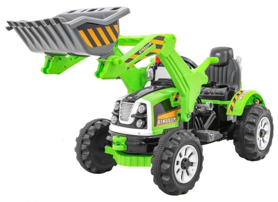 Tractor electric pentru copii (328) Verde Bucuresti - imagine 1