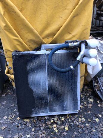 Радиатор за охлаждане от винтов компресор