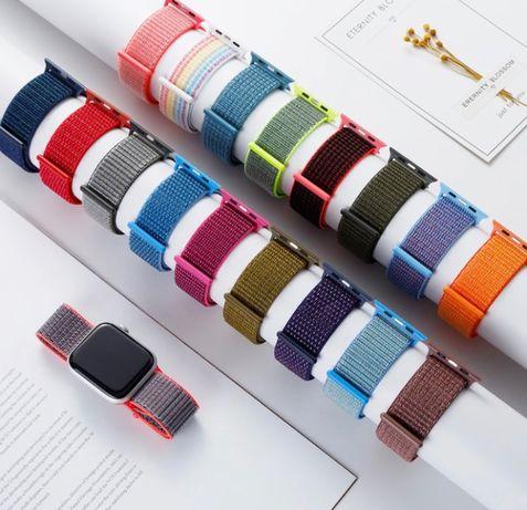Текстилна/Плетена Каишка Apple Watch 38mm 40mm 42mm 44mm