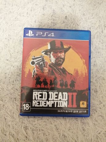 RDR2|Диск на ps4|Red Dead Redemtion 2