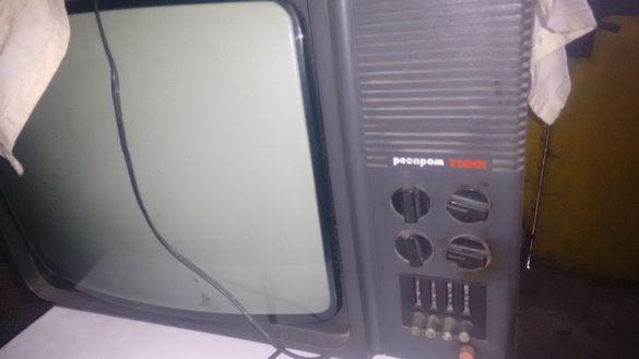 Ретро телевизор марка респром за антики още работи