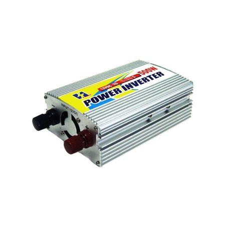 Инвертор за автомобил 500W DC 12V => AC 220V - YH-6500