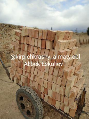 Кирпич красный строительный в Алматы каскелен кирпич  (и)