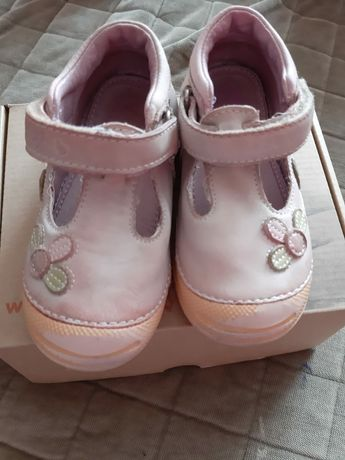 "Pantofi ""D.D.step"" Roz fetițe"
