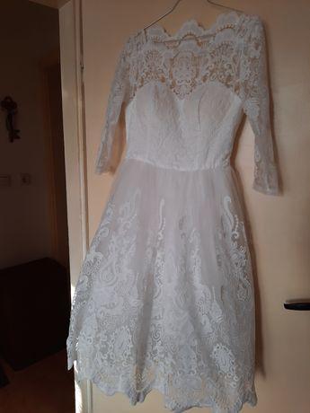 Булчинска роклия, къса
