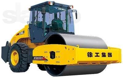 Услуги виброкатков грунтовых 14-16 тонн. Аренда