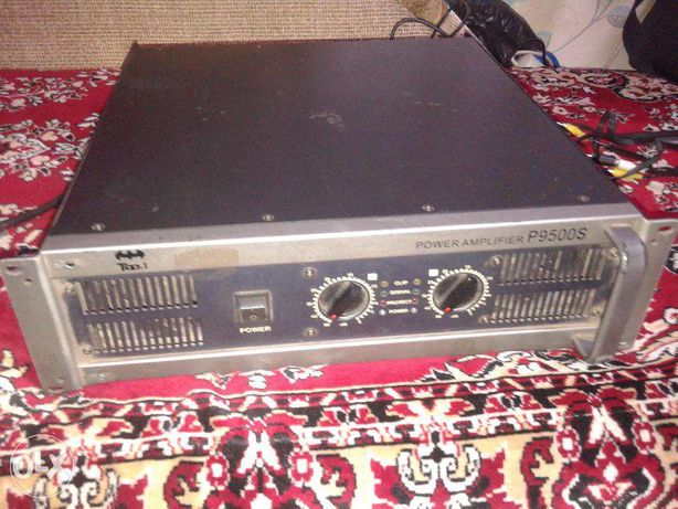 Усилитель мощности звука power amplifier p9600 s.Возможен обмен .
