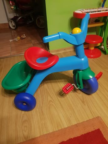 Tricicleta de plastic