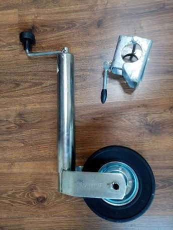 Roată de susținere de greutate pentru remorcă cu suport