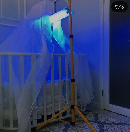 Ультрафиолетовая лампа от желтухи
