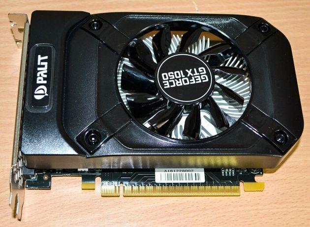 GeForce GTX 1050 видеокарта