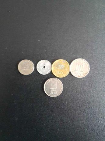 Лот гръцки монети