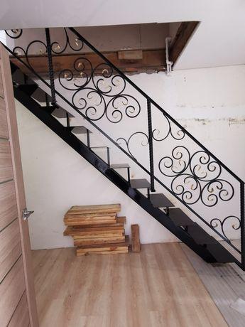 Лестницы из металла, перила и прочее недорого