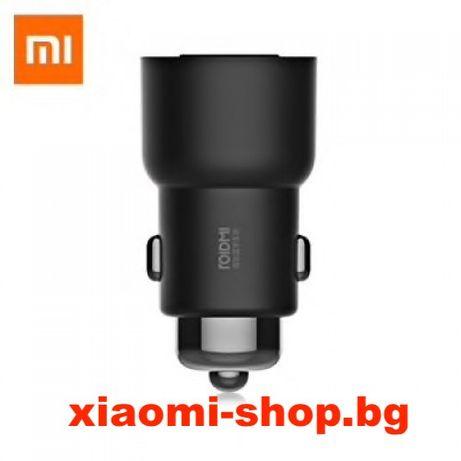 Roidmi 3S Xiaomi FM ТРАНСМИТЕР зарядно за кола MOJIETU нов модел!