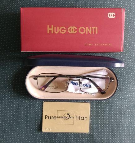 Продавам рамки за очила HUGOCONTI Pure TITAN
