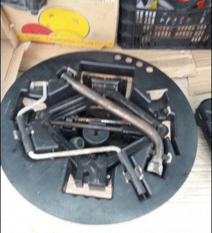 Kit cheie roti + suport + cric / tractoras remorcuta auto / Original /