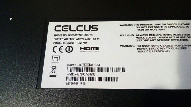 Tv Smart 124 cm pentru piese - display spart