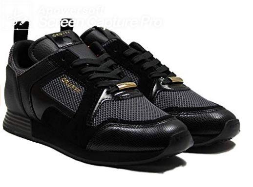 Cruyff Lusso Black Running Style Trainers