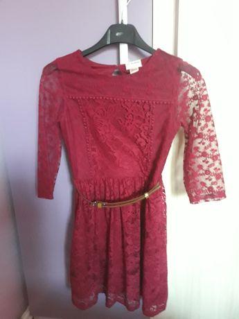 Детска рокля от дантела.