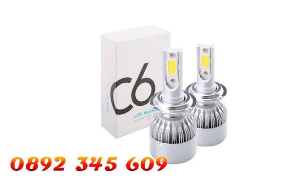 Качествени LED Светлинни КРУШКИ CANBUS H4, н1 , н7