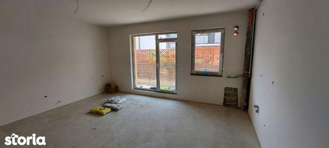 Apartament 3 camere 64 m2 semi-finisat-zona de case private