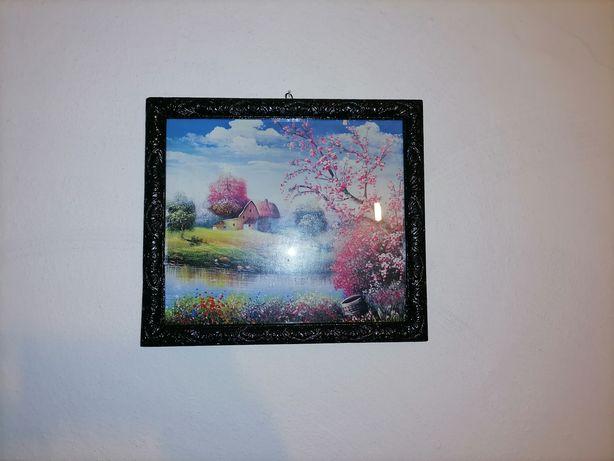 Tablou peisaj(nu este pictura) dimensiuni 30.5/40 cm.