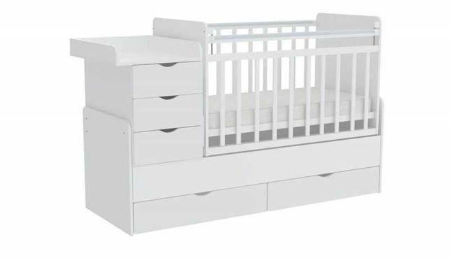 Кровать-трансформер Фея 1150 детские кроватки для новорожденных Алматы