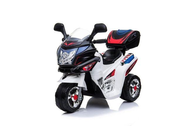 Mini Motocicleta electrica cu 3 roti 183099 STANDARD #Alb