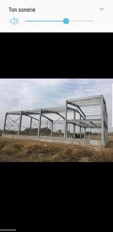 Vand structura hala metalică 10x26,completă sau pe elemente și alte mă