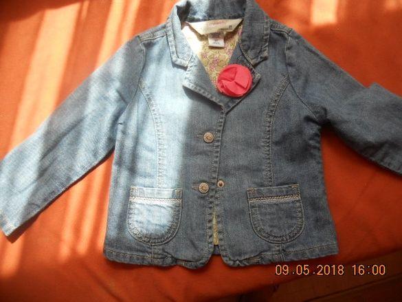 Дънково яке