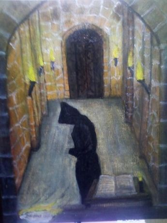 """Картина """"душата на монаха"""""""