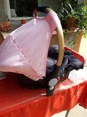 Стол за кола - кошче Chipolino Сенси розово 0-13 кг