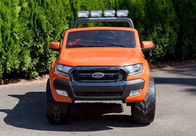 Masinuta electrica pentru 2 Copii Ford Ranger F650 cu Bluetooth Orange