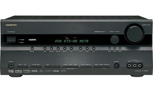 Onkyo TX-SR606 Receiver HDMI 7.1x110W AmpTuner RDS Amplificator NOU