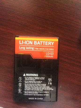 Батарея Lg G3 новый