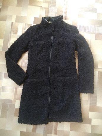 СКИДКА Шуба 42р из искусственного кучерявого каракуля Турция пальто