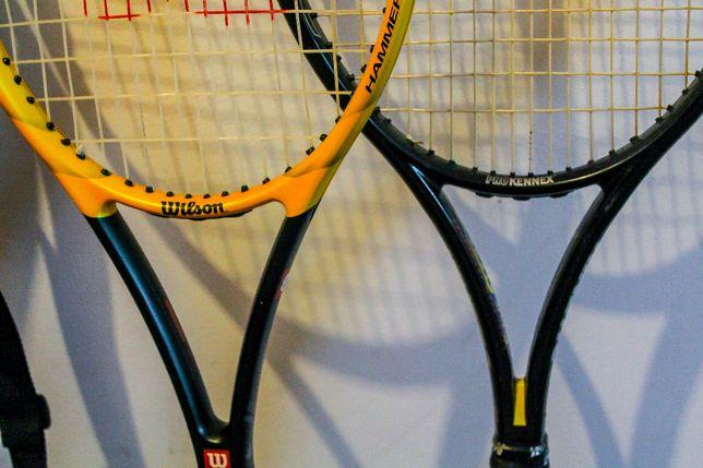 rachete de tenis + husa