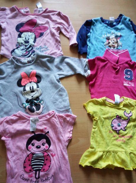 Tricouri ca noi marca Disney cu Mickey si Minnie pt bebe