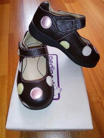 Новые туфли Pediped (США), 22 размер, натуральная кожа