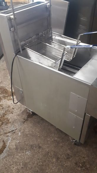 Фритюрник професионален газ автоматичен
