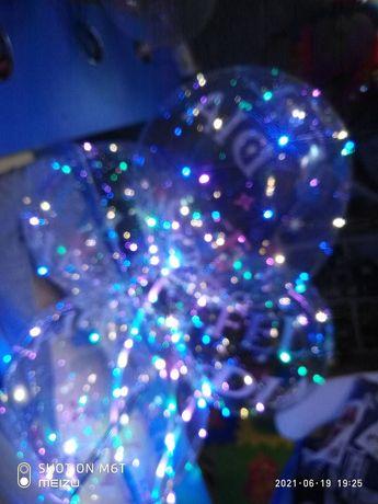 шарики светящиеся, рн вокзала