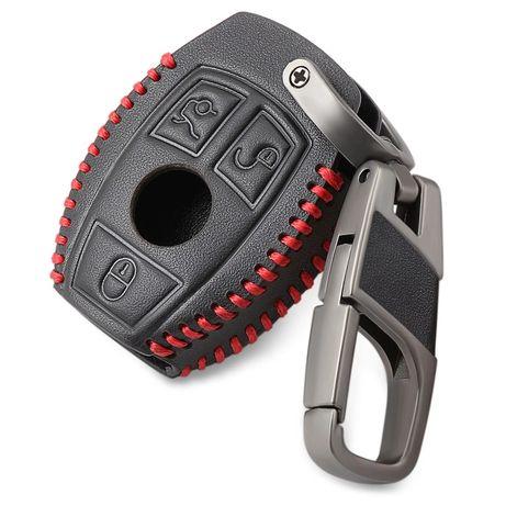 Husă cheie piele Mercedes-Benz