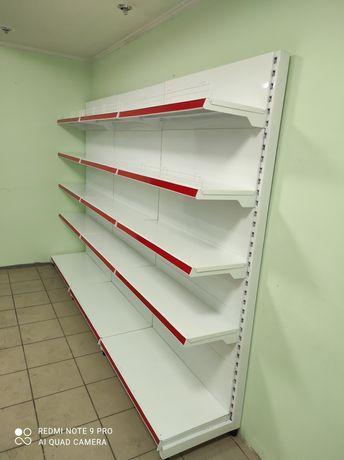 Стеллажи торговые для магазина витрина полки конфетница хлебный корзин