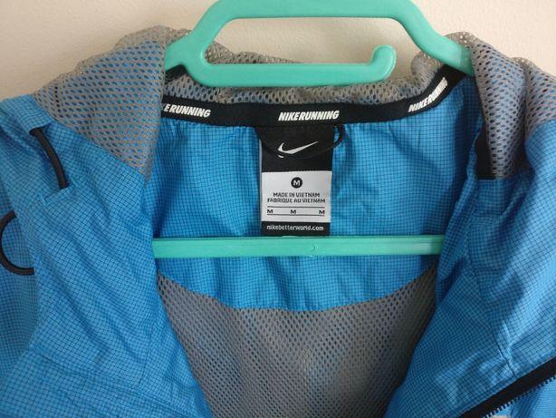 Geacă cu glugă Nike Windrunner, unisex, albastru, mărimea M