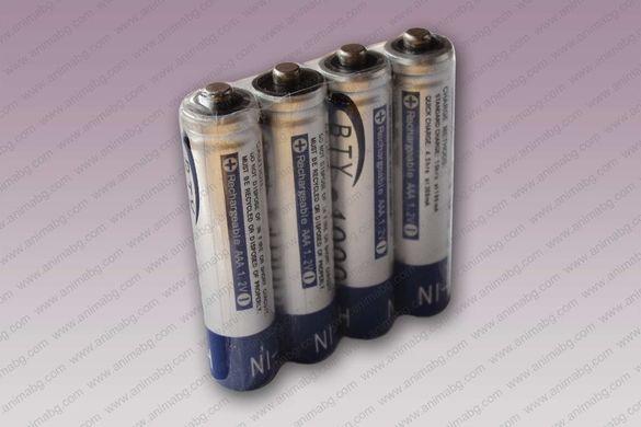 ANIMABG 4бр. презареждащи батерии AAА